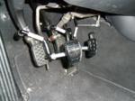 Pedalaufsätze im Schaltwagen für Kleinwüchsige